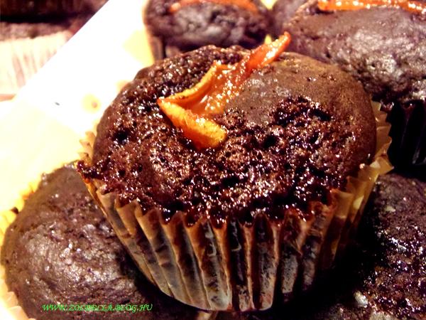 Csokis-körtés muffin<br />http://zoldella.blog.hu/2013/11/04/muffin_169