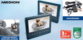 Medion Hordozható DVD-lejátszó dupla monitorral.jpg